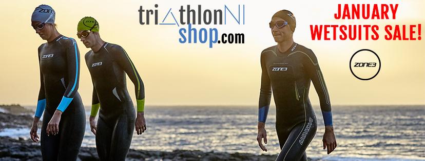 TriathlonNIshop's January Sale