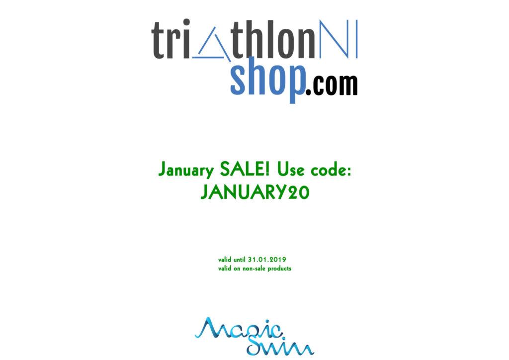 TriathlonNIshop January discount code: JANUARY20