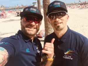 TriathlonNI Team at IM 70.3 Mallorca 2019