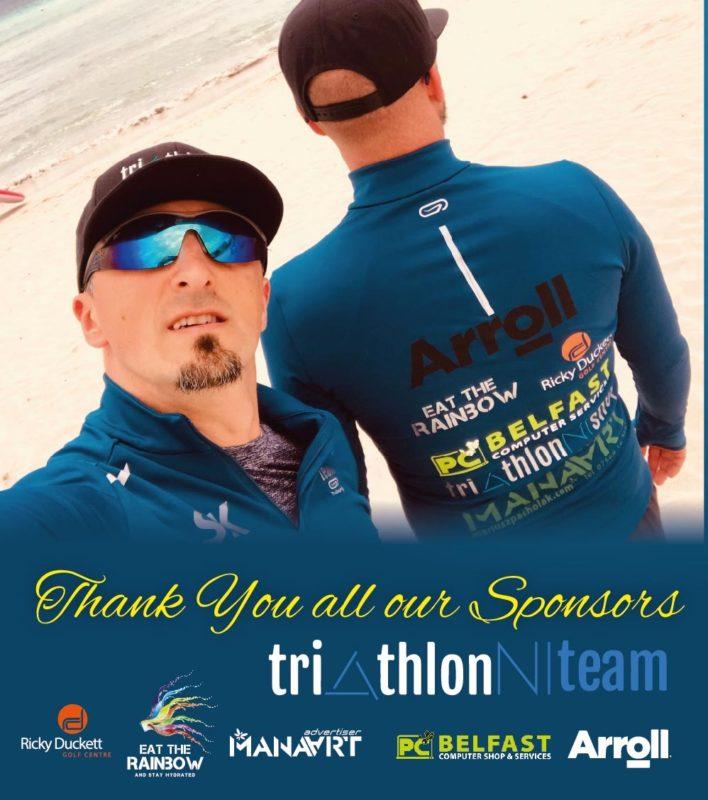 TriathlonNITeam thanks to Sponsors
