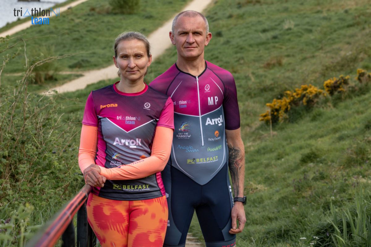 TriathlonNI Team - Mirek and Iwona