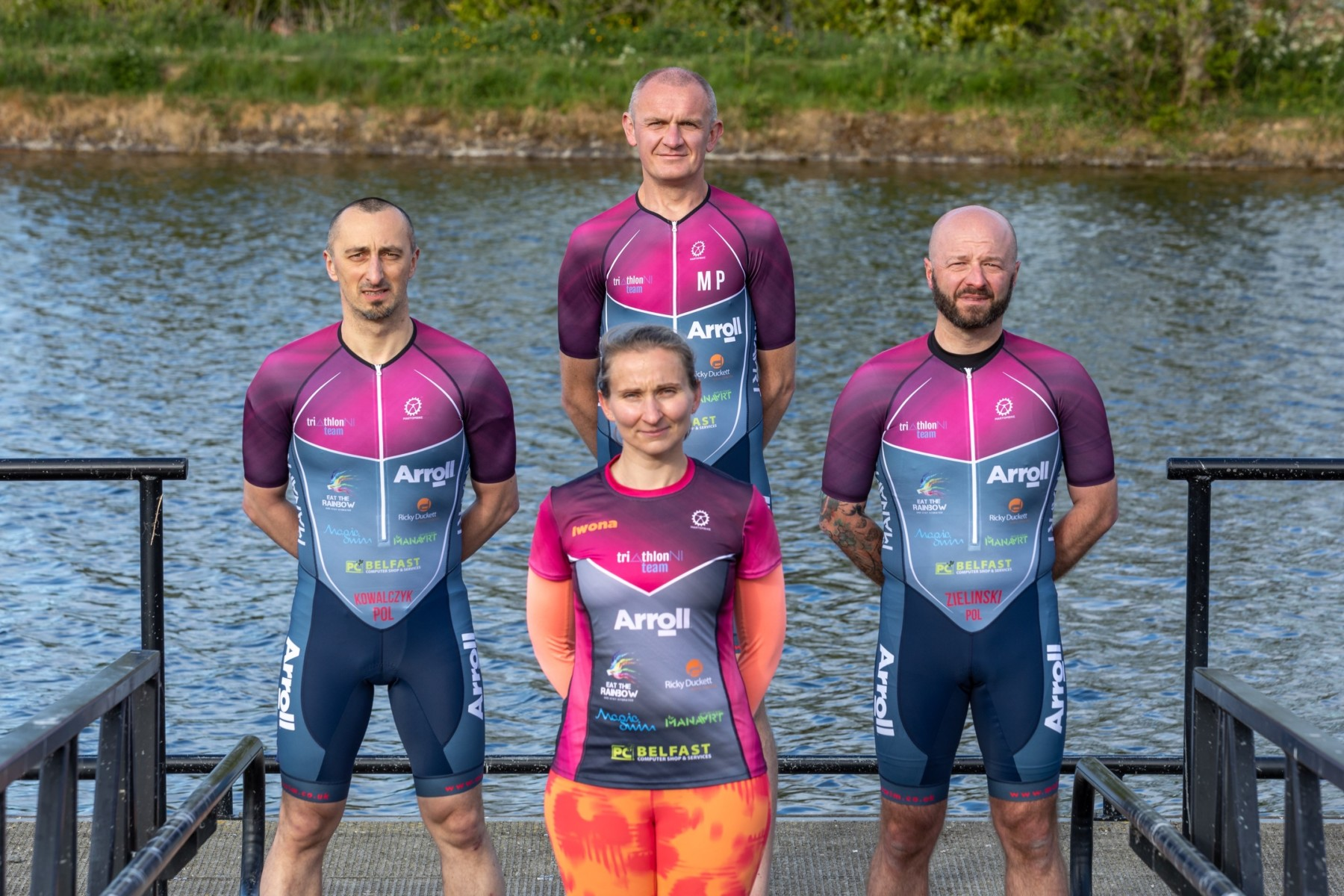 TriathlonNI Team photo: Maciek Bator